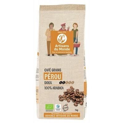 Café grain arabica Pérou - 1kg