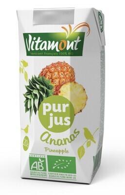 Pur jus d'ananas briquette - 20 cl