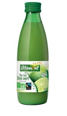Pur jus de citron vert - 25cl