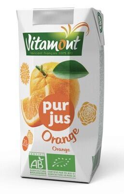 Pur jus d'orange briquette - 20 cl