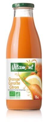 Jus carotte orange citron - 75cl