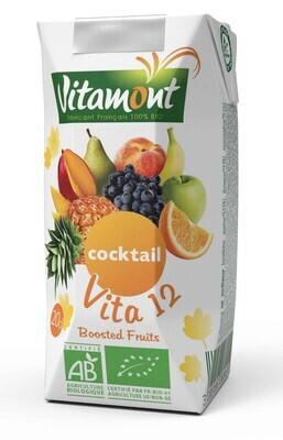 Jus vita 12 fruits briquette - 20cl