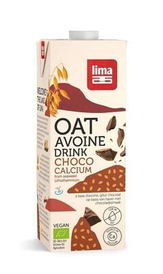 Boisson végétale avoine chocolat calcium - 1l