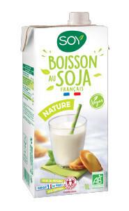 Boisson végétale au soja nature - 1l