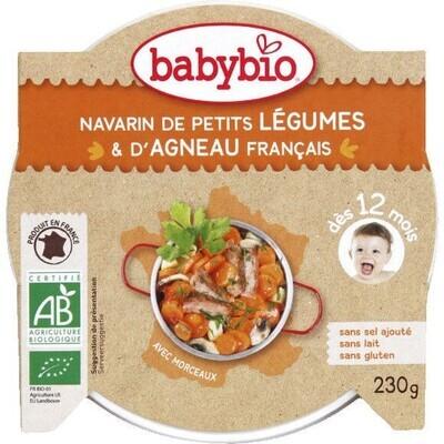 Assiette navarin de petits légumes et agneau français - dès 12 mois - 230g