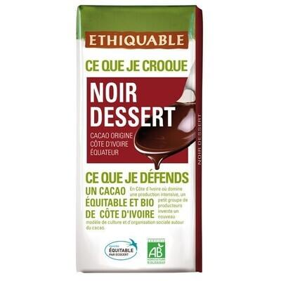 Chocolat noir dessert 60% - 200g