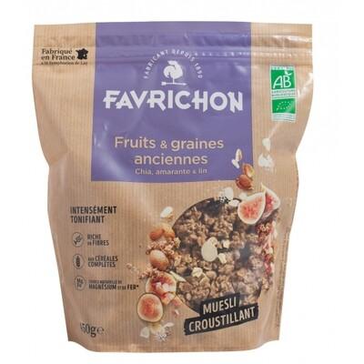 Muesli croustillant fruits et graines anciennes - 450g