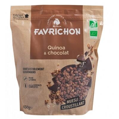 Muesli croustillant quinoa et chocolat - 450g