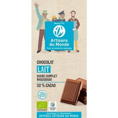 Chocolat au lait 32% - 100g