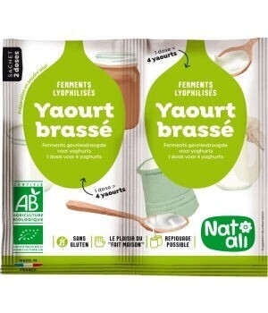 Ferment préparation yaourt brassé - 2x6g