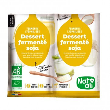 Ferment préparation yaourt soja - 2x6g