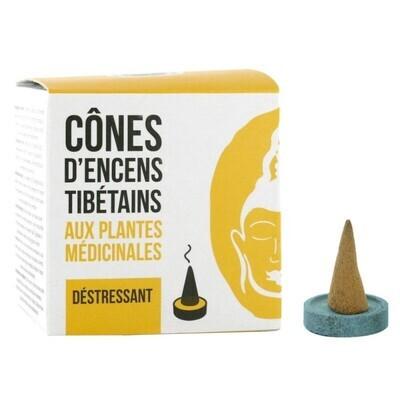 Encens tibétain déstressant - 12 cônes