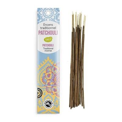 Encens indien patchouli - 20 bâtons