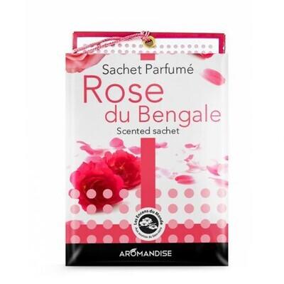 Sachet parfumé rose de bengale