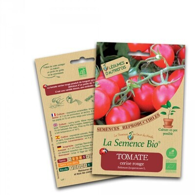 Tomate cerise rouge - 0.1g