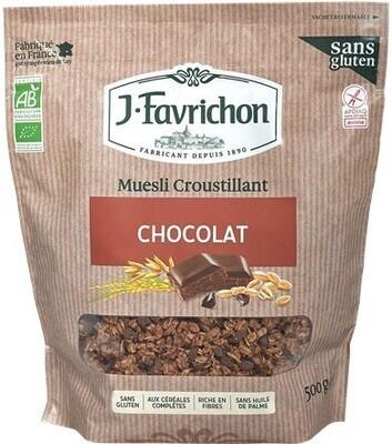 Muesli croustillant chocolat - 500g