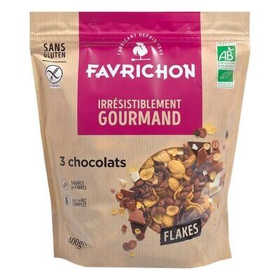 Flakes 3 chocolats - 400g