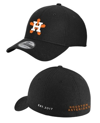 Houston Asterisks New Era® Diamond Era Stretch Cap