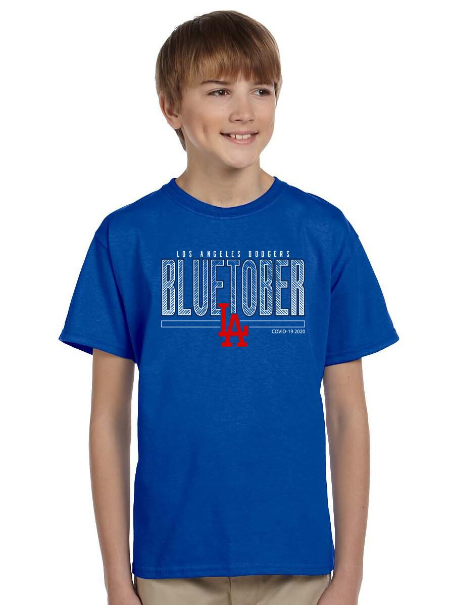 Youth Dodgers BLUETOBER Post Season STANDARD Shirt