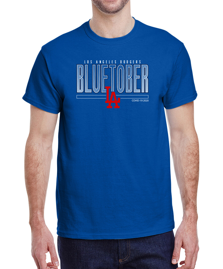 Dodgers BLUETOBER Post Season Men's STANDARD Shirt