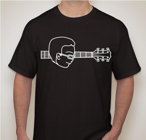 Jonathan Face with Guitar T-Shirt