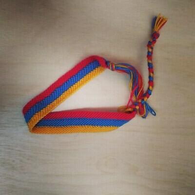 """Фенечка Чокер """"Флаг Армении"""""""