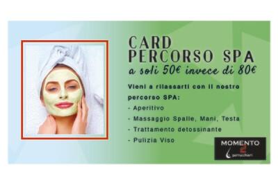 Card Percorso SPA