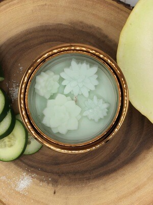 Salted Cucumber and Pepino Melon