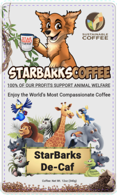 StarBarks Decaffeinated House Blend