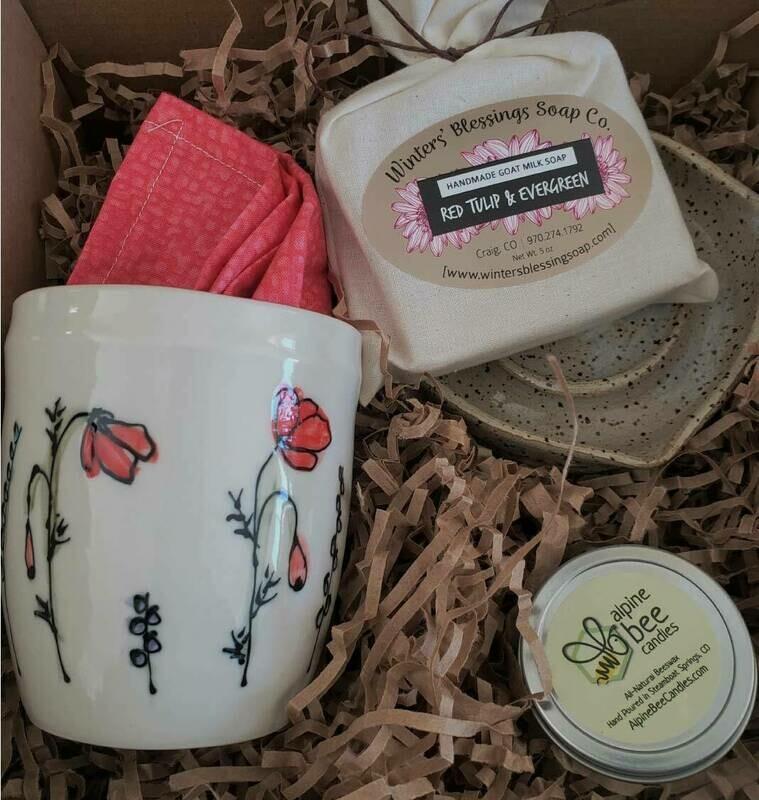 Soft Landings Poppy Gift Set
