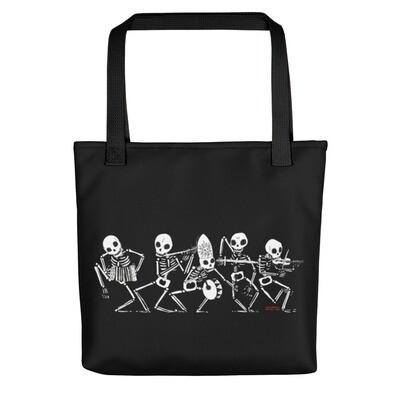 DANZA MACABRA 💀☠️💀 Shopping Bag Nera   Tote Bag