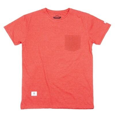 Lomme T-skjorte | Rødmelert