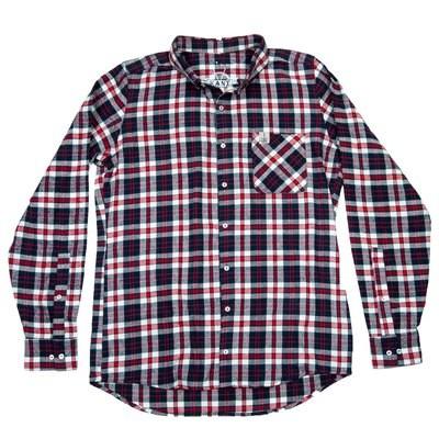 Flanell skjorte | Rød