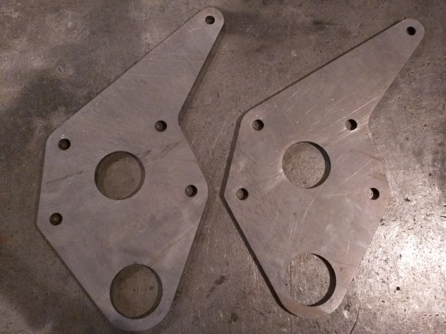 "1/4"" Split Bus beam side plates - PAIR"
