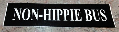 NON-HIPPIE BUS
