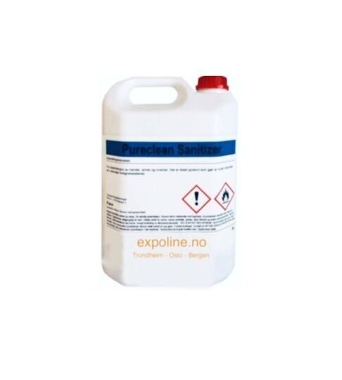 5 liter Antibakteriell rens