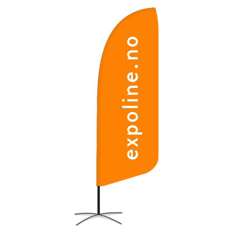 Beachflagg Medium   300cm