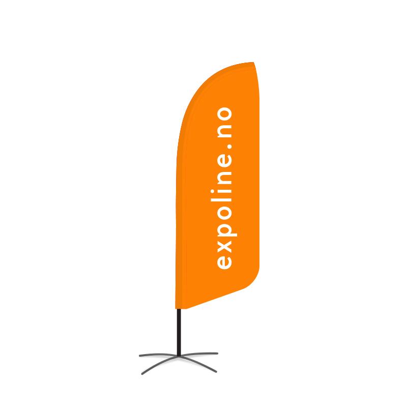 Beachflagg Small 250cm