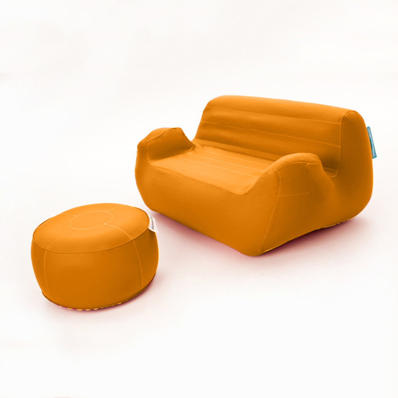 oppblåsbar pakke / sofa og bord/puff