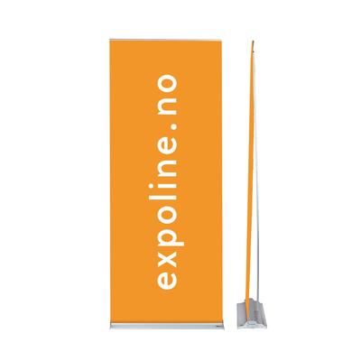 Expolinc Rollup Classic  70x195cm NB! flere størrelse Inkludert bane