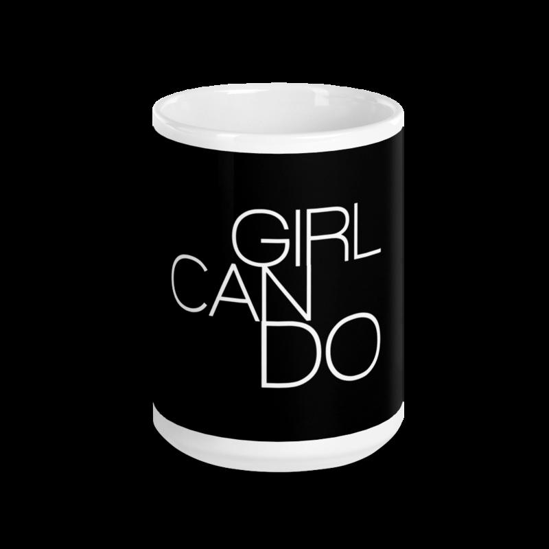 GIRL CAN DO MUG
