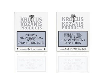 [Krocus Kozanis Products] 希臘番紅花茶飲組(2盒含運組)