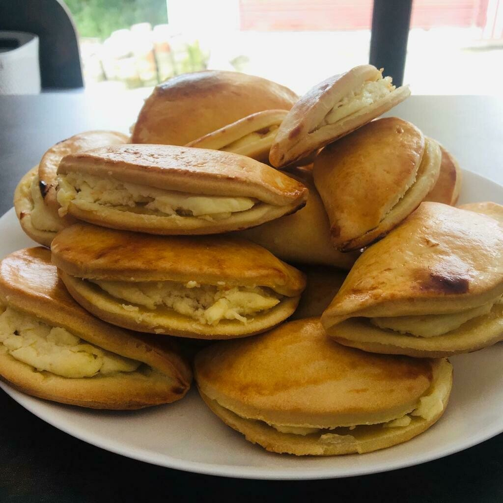 Sochniki with fresh farmer cheese
