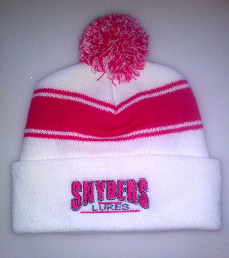 Hot Pink Pom Hat