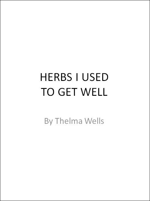 [Gift Package #8] MY HEALTH IS FAILING - HELP (audio) and HERBS I USED TO GET WELL (ebook)