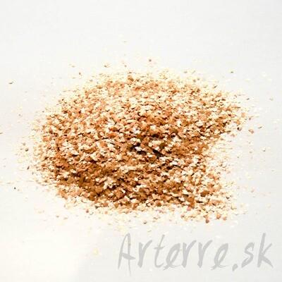 Sľuda zlato-medená 1-3 mm 120g