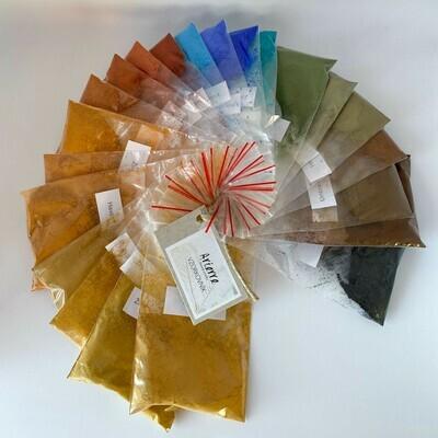 Vzorkovník pigmentov