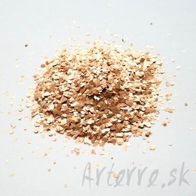 Sľuda zlato-medená 1-5 mm 120g