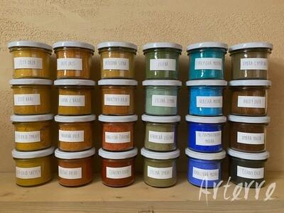 Sada pigmentov pre remeselníkov a umelcov