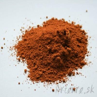 Oranžový oxid 500g
